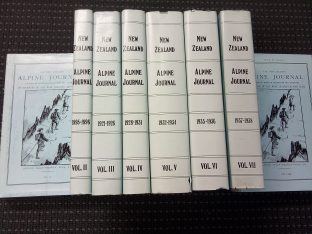 Alpine Journal reprint set vols I-VIII